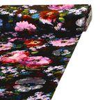 Tkanina na mb TAPIZ czerwona w kwiaty szer. 145 cm