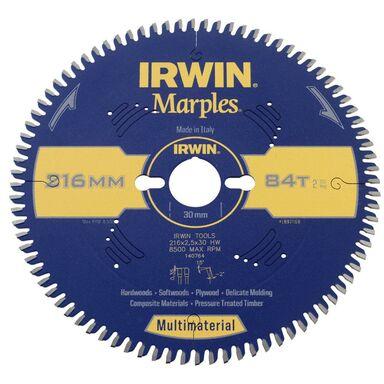 Tarcza do pilarki tarczowej 216MM/84T/30 IRWIN MARPLES MULTIMATERIAL