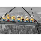 Plakat DESPICABLE ME - MINIONS LUNCH ON A SKYSCARPER 91.5 x 61 cm