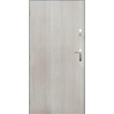 Drzwi zewnętrzne stalowe GRENOBLE Dąb sonoma 90 Lewe PANTOR