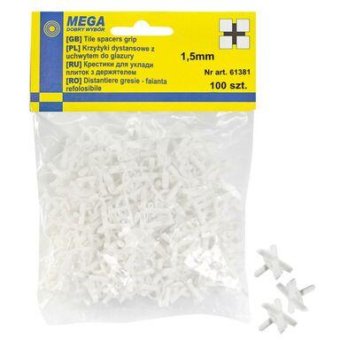 Krzyżyki z uchwytem 1,5 MM 100 SZT MEGA