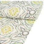 Tkanina na mb MOSAICO zielona szer. 140 cm
