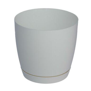 Doniczka plastikowa 25 cm biała TOSCANA FORM-PLASTIC