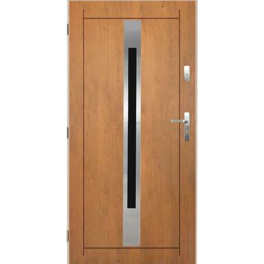 Drzwi zewnętrzne stalowe Lille dąb winchester 90 lewe Pantor