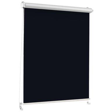 Roleta zaciemniająca Silver Click 108.5 x 150 cm czarna termoizolacyjna