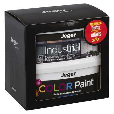 Zestaw INDUSTRIAL 1 l + 1 l GRATIS Platinum efekt dekoracyjny JEGER