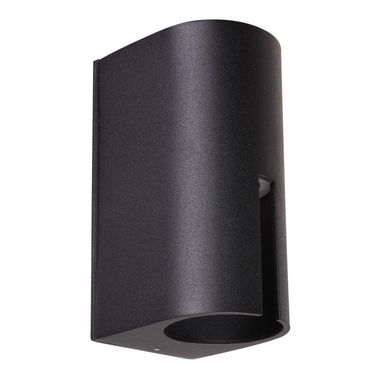 Kinkiet zewnętrzny ROVIGO IP54 czarny aluminium LED ITALUX