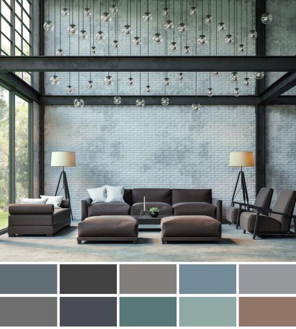 Kolory w stylu loft