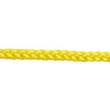 Lina polipropylenowa 100 kg 4 mm x 40 m pleciona żółta STANDERS