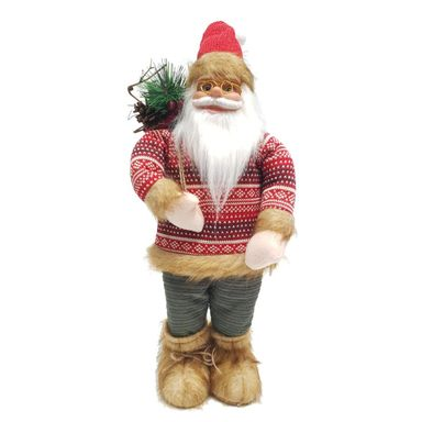 Mikołaj w sweterku stojący 45 cm 1 szt.