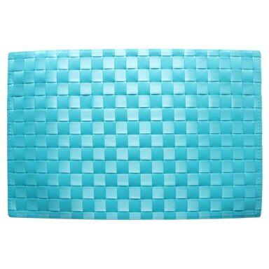Podkładka na stół Prism prostokątna 45 x 30 cm niebieska