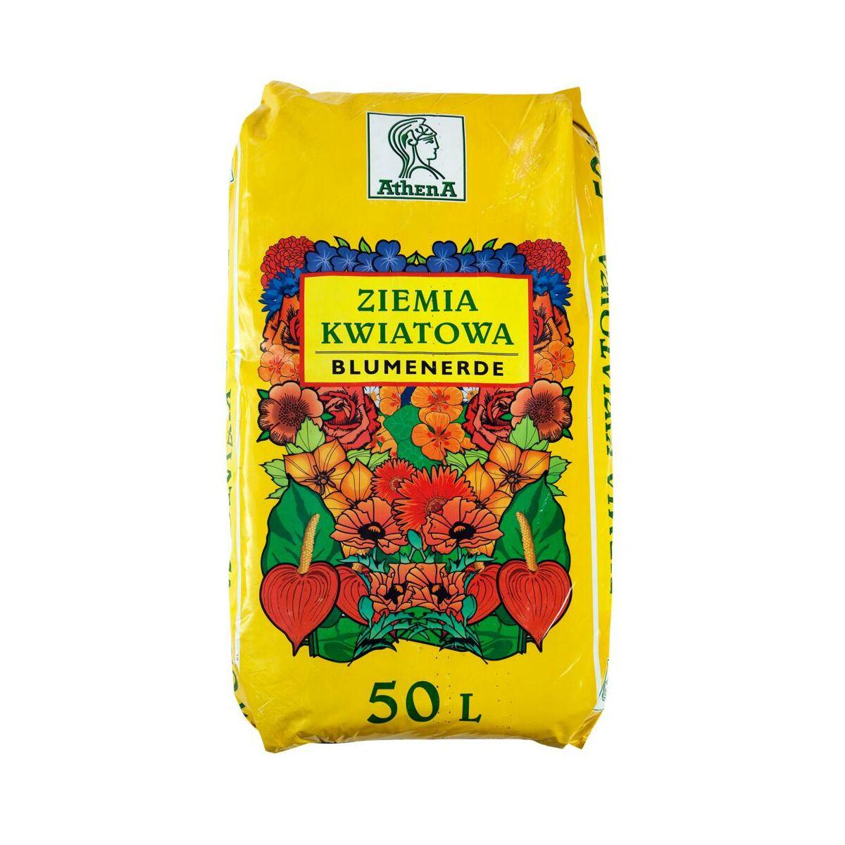Podłoże kwiatowe 50 l ATHENA