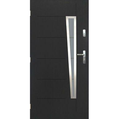 Drzwi wejściowe MARSYLIA Antracyt 90 Lewe PANTOR