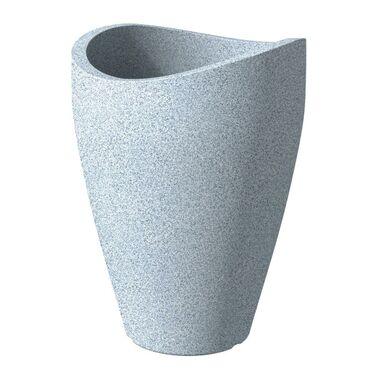 Doniczka Weiß Granit śr 30 Cm Scheurich