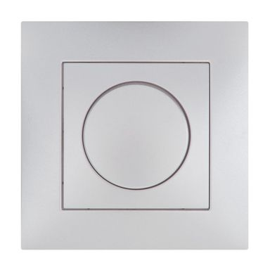 Ściemniacz przyciskowo-obrotowy CARLA  Srebrny  ELEKTRO-PLAST