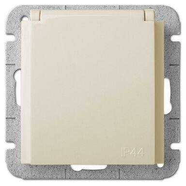 Gniazdo pojedyncze IP44 SENTIA  kremowy  ELEKTRO - PLAST