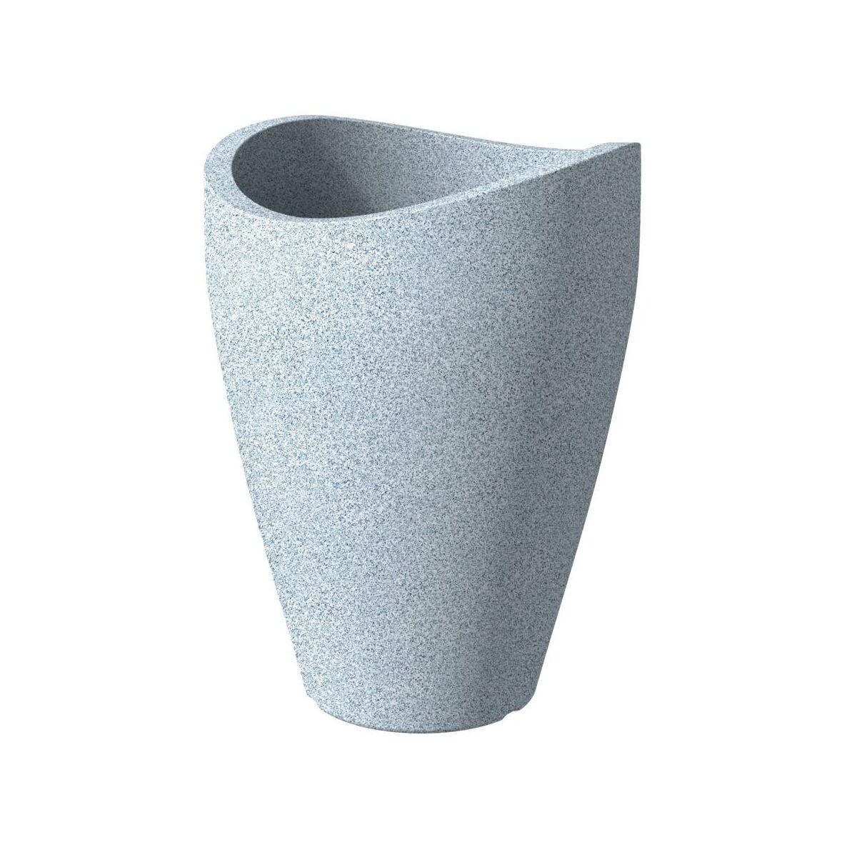 doniczka wei granit scheurich doniczki w atrakcyjnej cenie w sklepach leroy merlin. Black Bedroom Furniture Sets. Home Design Ideas