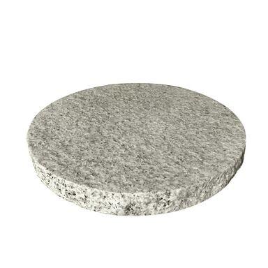 Płyta granitowa 30 x 30 x 3 cm szara płomieniowana
