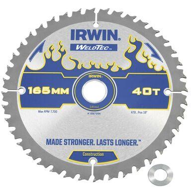 Tarcza do pilarki tarczowej 165 mm/40T C/20(16) IRWIN WELDTEC