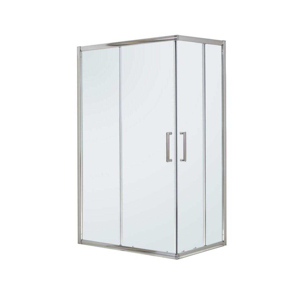 Kabina Prysznicowa 80 X 120 Cm Quad Sensea Kabiny Prysznicowe W Atrakcyjnej Cenie W Sklepach Leroy Merlin