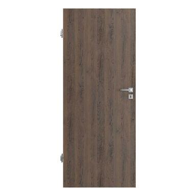 Skrzydło drzwiowe pełne RESIST 1.1 Brązowe 90 Lewe PORTA