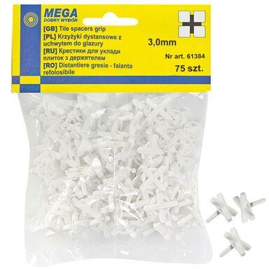 Krzyżyki z uchwytem 3,0 MM 75 SZT MEGA