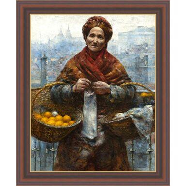 Obraz POMARAŃCZARKA ALEKSANDER GIERYMSKI 50 x 60 cm NIELSEN