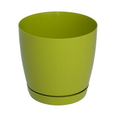 Doniczka plastikowa 17 cm zielona TOSCANA FORM-PLASTIC