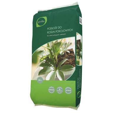 Podłoże do roślin pokojowych 10 l GEOLIA