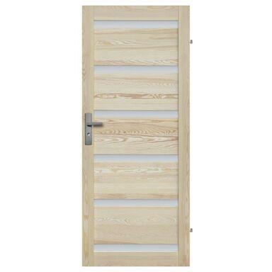 Skrzydło drzwiowe drewniane pokojowe Genewa 80 Prawe Radex