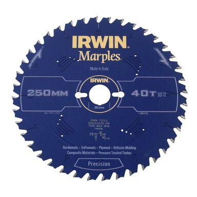 Tarcza do pilarki tarczowej 250 mm/40T/30 IRWIN MARPLES