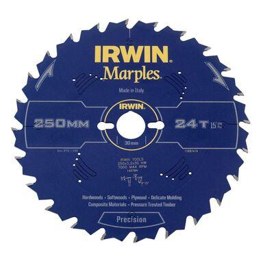 Tarcza do pilarki tarczowej 250MM/24T/30  250 mm zęby: 24 szt. IRWIN MARPLES