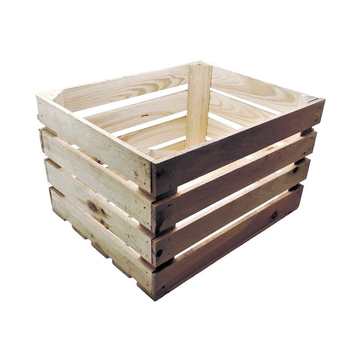 Skrzynka Ogrodowa 50 X 40 Cm Drewniana Tajemniczy Ogród