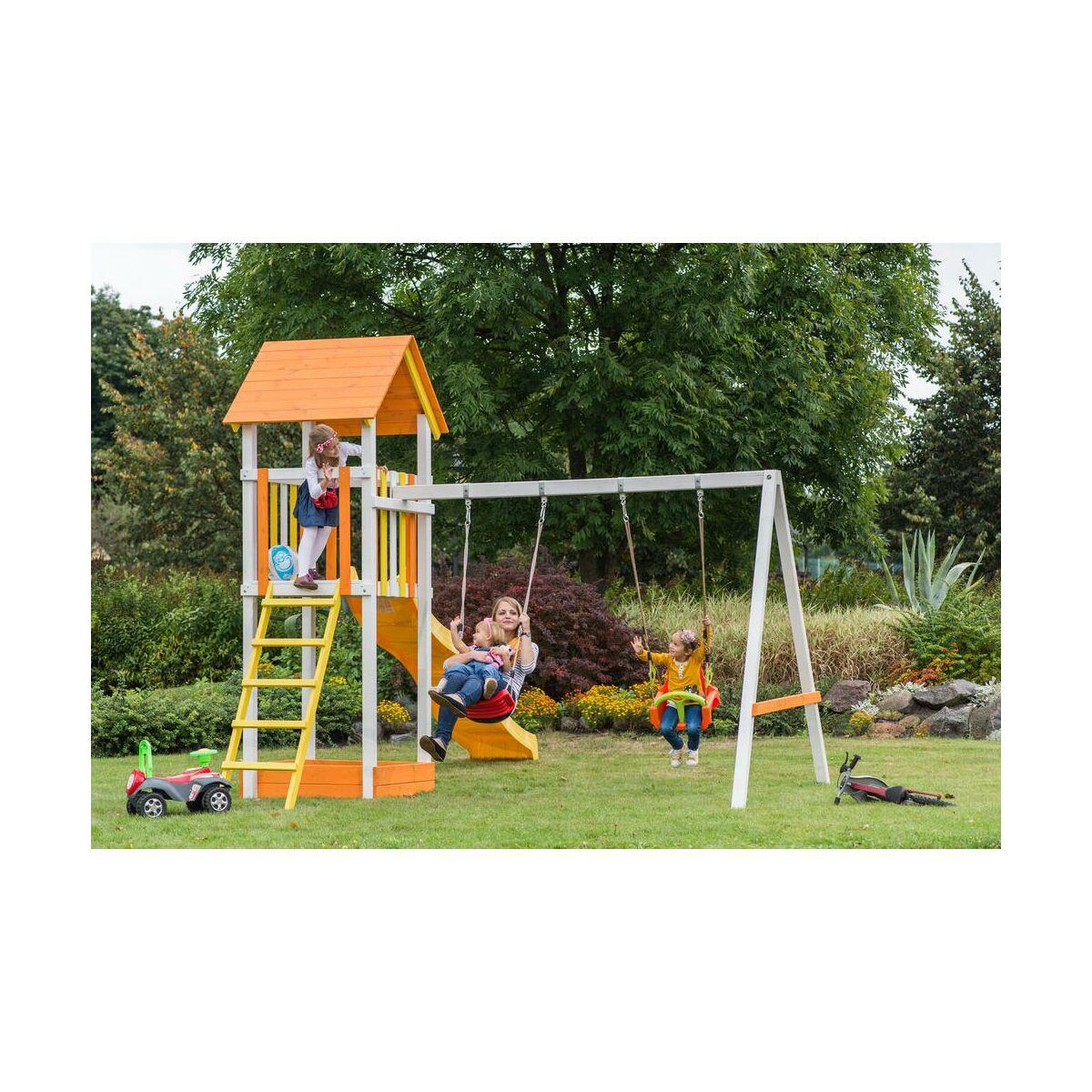 Wymiary Hustawki Ogrodowej Dla Dzieci :  zabaw dla dzieci Huśtawki dla dzieci, bujaki Plac zabaw ZUZIA SOBEX