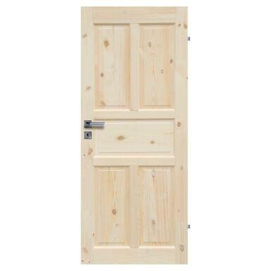 Skrzydło drzwiowe drewniane pełne Londyn Lux 80 Prawe Radex