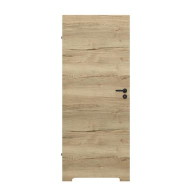Skrzydło drzwiowe z podcięciem wentylacyjnym Resist 7.1 Dąb Halifax 90 Lewe Porta