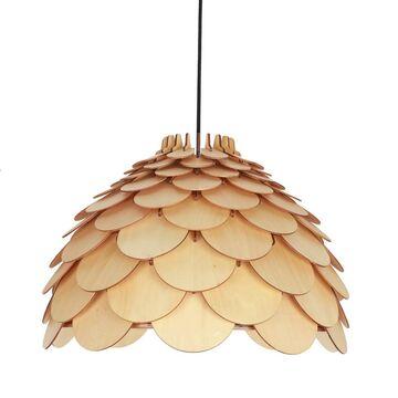 Lampa wisząca BURGO brązowa E27 LIGHT PRESTIGE