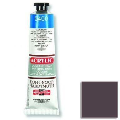 Farba akrylowa brązowa 40 ml Koh-i-Noor