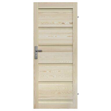 Skrzydło drzwiowe pełne drewniane GENEWA 80 Prawe RADEX