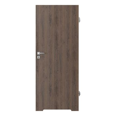 Skrzydło drzwiowe z podcięciem wentylacyjnym RESIST 1.1 Brązowe 90 Prawe PORTA