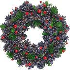 Wianek świąteczny 34 cm bożonarodzeniowy