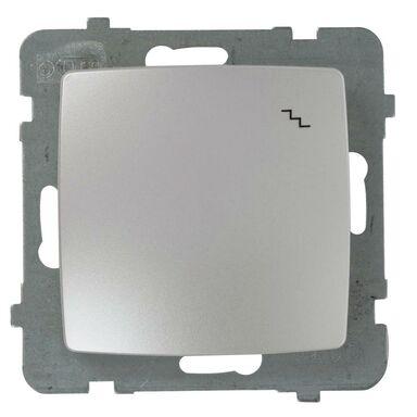 Włącznik schodowy KARO  perłowy  OSPEL