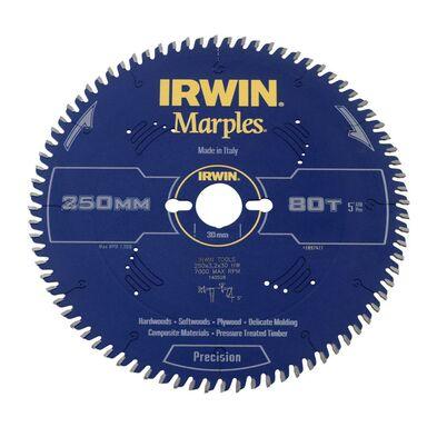 Tarcza do pilarki tarczowej 250MM/80T/30  250 mm zęby: 80 szt. IRWIN MARPLES