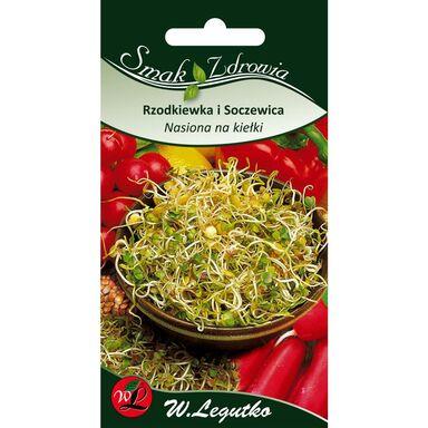 Rzodkiewka i soczewica nasiona na kiełki 30 g W. LEGUTKO