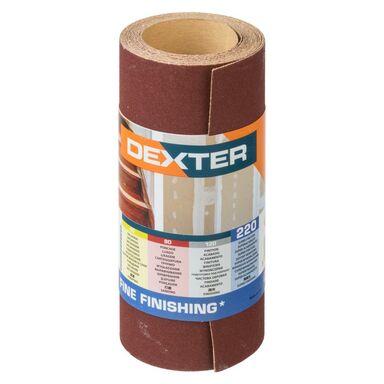Papier ścierny ROLKA PAPIER P220 115 mm x 2.5 m DEXTER