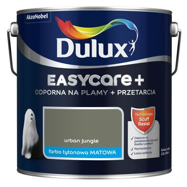 Farba wewnętrzna Easycare+ 2.5 l Urban jungle Dulux