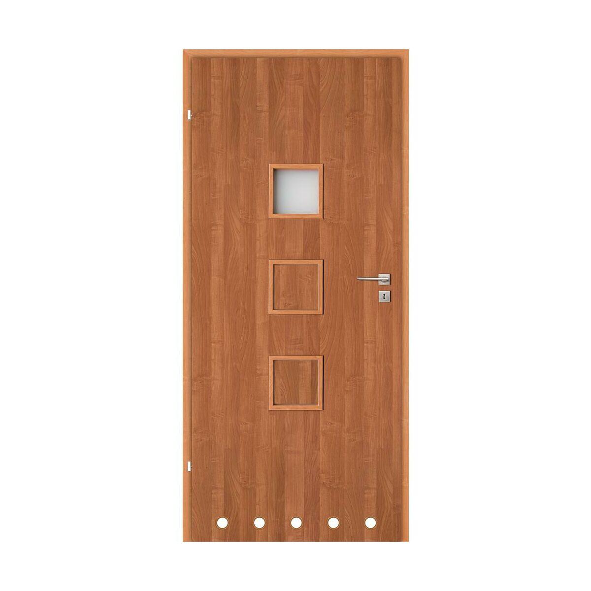 Skrzydlo Drzwiowe Z Tulejami Wentylacyjnymi Lea Olcha 60 Lewe Classen Drzwi Wewnetrzne W Atrakcyjnej Cenie W Sklepach Leroy Merlin