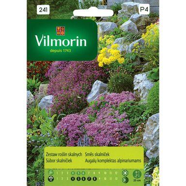 Zestaw roślin skalnych nasiona tradycyjne 2 g VILMORIN
