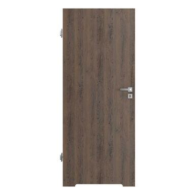 Skrzydło drzwiowe z podcięciem wentylacyjnym RESIST 1.1 Brązowe 90 Lewe PORTA