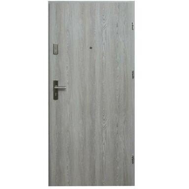 Drzwi zewnętrzne MDF Hektor 32 dB Dąb Nordycki 90 Prawe otwierane do wewnątrz Domidor